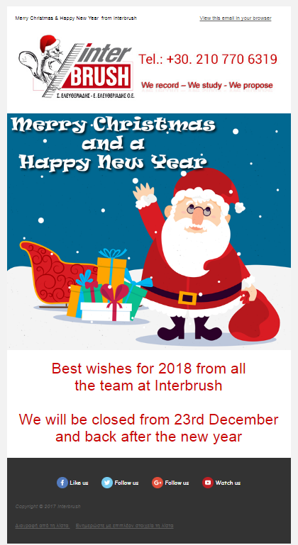 chirstmas newsletters